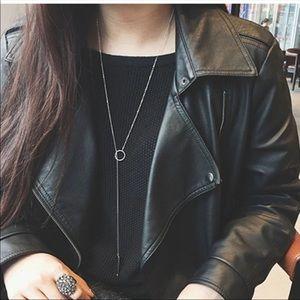 Jewelry - •Mel• Bar Lariat Necklace